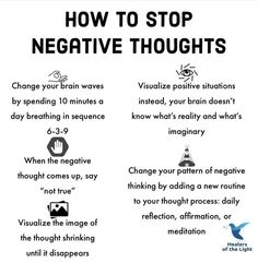 How To Stop Negative Thoughts quotes positivity positive vibes quote of the day life images negativity quotes