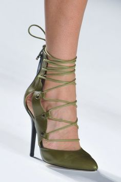 Marissa Webb Spring 2014 gets us all laced up! #NYFW