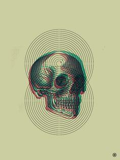 Skull & Circles - Mark Weaver