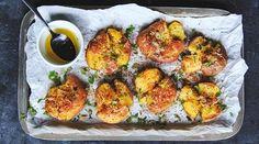 Oppskrifter – Enriched Food Gazpacho, Bruschetta, Guacamole, Hummus, Pesto, Baked Potato, Potatoes, Chicken, Baking
