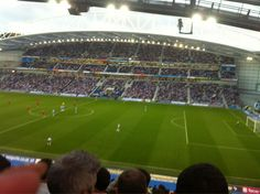 Martha Thorpe ‏@Mrs4psta:   Loving our new seats with @4psta #BHAFC