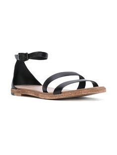 Roberto Del Carlo buckled flat sandals