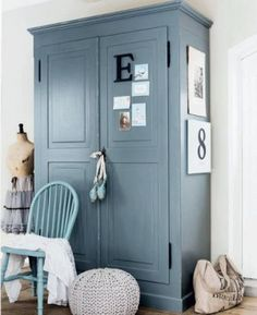 kast van old basics Interior Styling, Interior Decorating, Interior Design, Upcycled Furniture, Painted Furniture, Furniture Makeover, Home And Living, Interior Inspiration, Sweet Home