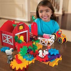 Juego de engranajes de colores con elementos adicionales muy divertidos y coloristas. Caja con 82 piezas incluidas las bases. A partir de 7 años. #juguetes #Infantil #juegos #JuguetesDidacticos #Construcciones http://www.multididacticos.com