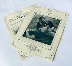 Svatební noviny (20 výtisků A4) / Zboží prodejce W-day | Fler.cz Polaroid Film, Wedding, Valentines Day Weddings, Weddings, Marriage, Chartreuse Wedding