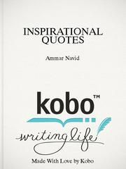INSPIRATIONAL QUOTES - Over 550 Inspirational Quotes