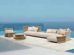 Shop online the complete collection of products Talenti. Select the best offers by Outdoor furniture and discover all the promotions on Talenti products. Outdoor Balcony, Outdoor Sofa, Outdoor Living, Outdoor Furniture Sets, Outdoor Decor, Garden Sofa, Rattan Sofa, Sofa Set, Sofa Design