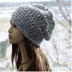 Check out this item in my Etsy shop https://www.etsy.com/listing/482648566/slouchy-crochet-hat-unisex-beanie-super