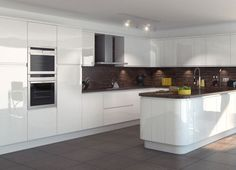 handleless cream and wood kitchens - Google Search