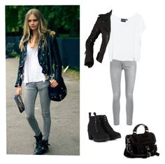 """Cara Delevingne."" by marie-detaille on Polyvore"