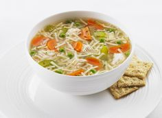 Discover the simple comfort of our Catelli® Classic Chicken Noodle Soup. There's no better way to warm up than with this classic. Tip To use leftover cooked chicken, add at the same times as the noodles. Stuffing Recipes, Turkey Recipes, How To Cook Chicken, Cooked Chicken, Chicken Noodle Soup, Supper Recipes, Fried Potatoes, Soups And Stews, Food For Thought