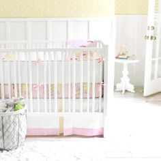 Out to Sea in Pink 2-Piece Crib Bedding Set at Jack and Jill Boutique