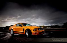 """Ford Mustang Saleen Parnelli Jones"" by Ted Vanderloo"