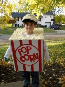 Box of Popcorn Costume Tutorial