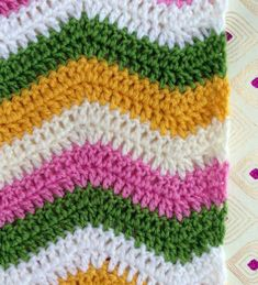 Ripple crochet pattern techniques and formula