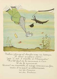 Babar Jean de Brunhoff 1938