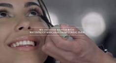 L'Oréal Made 100 Women Cry In A Cinema To Test Its Waterproof Mascara.