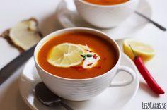 Pumpasoppa med chili och spiskummin | Lesscarbs.se