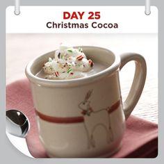 25 Days of Christmas Cheer :: Day 25 :: Christmas Cocoa