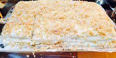 .. Pinezes ..: Χιλια φυλλα / Μιλφειγ Vanilla Cake, Desserts, Food, Tailgate Desserts, Deserts, Essen, Postres, Meals, Dessert