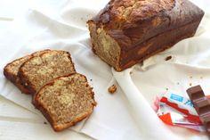Cake marbré au kinder : la recette facile