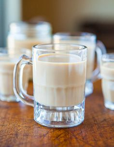 Homemade Baileys Irish Cream - Make in 1 minute in the blender. So fast & easy you'll wonder why you haven't always been doing this! Recipe at averiecooks.com