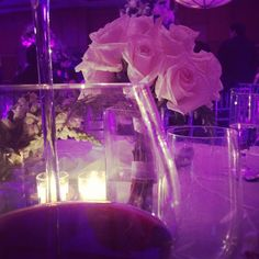 Roses and wine.
