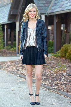Life with Emily | a life + style blog : New Year's Eve Outfit Idea