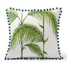 Exotic Palms Gingko Outdoor Pillow