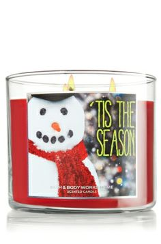 'Tis the Season 14.5 oz. 3-Wick Candle - Slatkin & Co. - Bath & Body Works best Christmas candle ever!!!! It smells soooooooooo good!!! I bought it for my mom and she loves it!!!