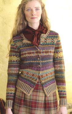 Rowan Felted Tweed FairIsle Cardigan kit - Got Yarn! Got Kits! Get Knitting!