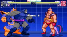 Twilight Sparkle And Krang VS Darkseid And Thanos In A MUGEN Match / Battle / Fight This video showcases Gameplay of Twilight Sparkle From The My Little Pony Friendship Is Magic Series And Krang From The Teenage Mutant Ninja Turtles Series VS Darkseid And Thanos The Supervillain In A MUGEN Match / Battle / Fight