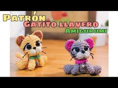 Gato Amigurumi - YouTube Cat Mouse, Amigurumi Doll, Crochet Projects, Teddy Bear, Toys, Animals, Videos, Youtube, Crochet Cats