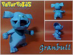 Easy Pokemon Papercraft   PaperPokés - Pokémon Papercrafts: GRANBULL