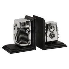 As seen on HGTV's Flipping the Block, Episode 5 – The Guest Room: Snapshot Bookends (Set of 2)