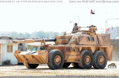United Arab Emirates Ground Force G6 self-propelled howitzer during the live demo at IDEX 2013 - From Military in the Middle East Blog - Feb 2013