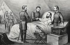 """From the always interesting Atlas Obscura : Most of Civil War superstar Thomas Jonathan """"Stonewall*"""" Jackson ( wiki ) was buried in a Le. American Civil War, American History, Captain American, Battle Of Chancellorsville, Jonathan Jackson, We Are The Mighty, Stonewall Jackson, History Magazine, Poster Size Prints"""