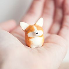 Le Corgi FatFat Totem Made to Order by leanimale on Etsy