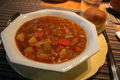 Mennonite Girls Can Cook: Beef and Barley Soup