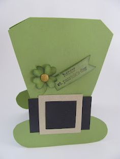 St. Patrick's Day card using Stampin' UP!