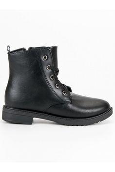 Klasické šnurovacie topánky CnB Timberland, Combat Boots, Biker, Vans, Shoes, Fashion, Moda, Zapatos, Shoes Outlet
