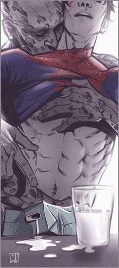 Marvel Universe - Wade Wilson x Peter Parker - Spideypool Deadpool X Spiderman, Deadpool Love, Batman, Spideypool, Superfamily, Marvel 3, Marvel Universe, Marvel Films, Marvel Heroes