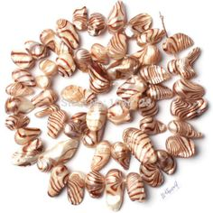 """Free Shipping 10-14mm Irregular Shape Banded Coffee Color Freshwater Pearl Loose Beads Strand 15"""" Jewellery Making w1360"""