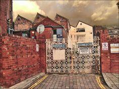 Royal Doulton factory, Burslem, Stoke-on-Trent, England - Gone forever :(