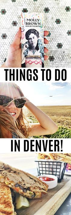 PIN NOW! The perfect guide to Denver for a quick trip or someone who has never been to Denver. Places to Eat and things to do in Denver!