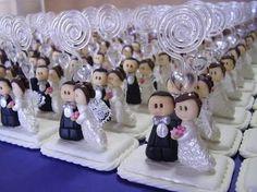 lembrancinhas de casamento em biscuit - Pesquisa Google