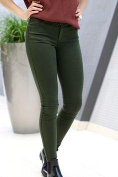2nd One - Nicole Dark Envy 2nd One, Envy, Dark, Pants, Fashion, Moda, Trousers, Fashion Styles, Women Pants