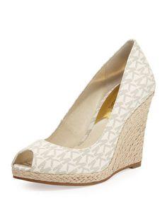 The MK shoe to match my Hamilton tote