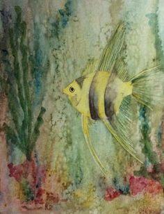 Aquarelle réalisée par Nanou1346.