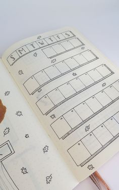Bullet Journal MONTH-AT-A-GLANCE